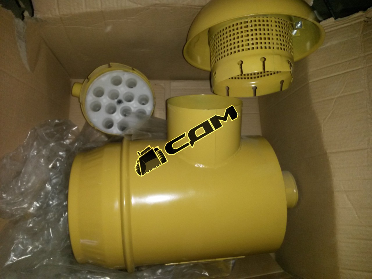 Корпус воздушного фильтра с крышкой CDM855  615G60110065/2